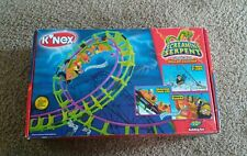 K'NEX Screamin' Serpent motorized roller coaster