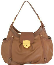 Ralph Lauren large leather brown hobo style bag, pre-owned