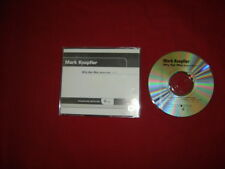 MARK KNOPFLER ~ WHY AYE MAN  - RADIO EDIT  2002 US 2 TRACK PROMO CD
