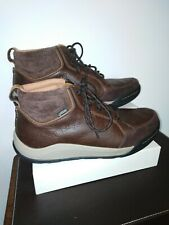 Mens Leather Walking Hiking Boots Clarkes Goretex 8 G
