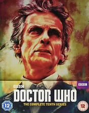 Doctor Who: Complete 10th BBC Series 10 Steelbook Blu-ray 2017