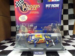 Winners Circle Pit Row Series Kenny Wallace #81 Yellow/blue Ford Taurus W/drive