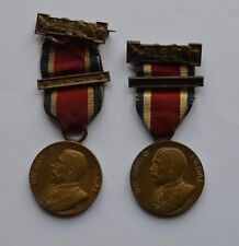 The King Medal 1911-12 & 1913-14 London Council Attendance Awarded to F. Brooker