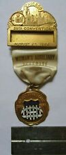 1956 US Post Office NALC Womans Clerks Mailman Chicago Illinois IL Medal Badge