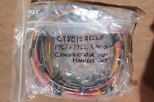 1961 1962  Lincoln Convertible Top Roof Wiring Harness Set NEW  C1VB-15B662-A