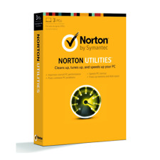 Norton Utilities Lifetime License 3-PC Global Antivirus Genuine License NO-CD
