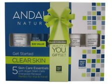 AUH-385 Andalou Naturals Clear Oily Skin Trial & Travel Pack 5 Mini's care clean