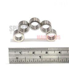 25 néodyme N52 Anneau Aimants 9.5 mm Dia x 1 mm + 6.35 mm trou forte Neo magnet