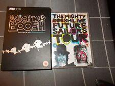 THE MIGHTY BOOSH Series 1 & 2 plus FUTURE SAILORS TOUR - region 4 DVD's