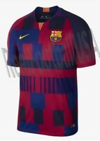 NIKE FC BARCELONA 20TH ANNIVERSARY MASHUP HOME JERSEY 1999 -2019.