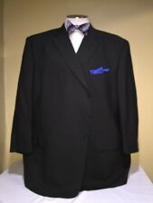 MENS YVE ST GERMAINE DARK OLIVE 3 Button Sport COAT SZ 56L