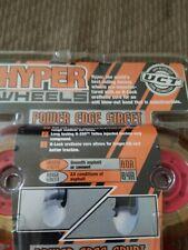 Hyper Wheels Power Edge Hockey Inline Skate Wheels 76mm 82-A STREET VINTAGE
