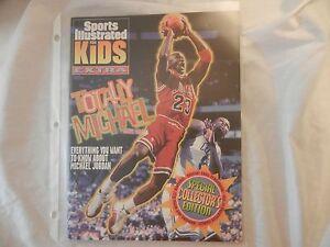 Chicago Bulls Michael Jordan Sports Illustrated For Kids Extra Poster 1998