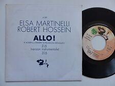 ELSA MARTINELLI ROBERT HOSSEIN Allo ! 61329 PROMO Discotheque RTL