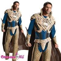 Mens Deluxe Jor-El Costume Man Of Steel Jor El Hero Adult Superman Outfits