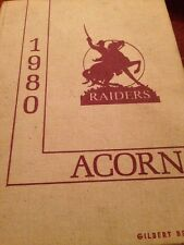 1980 Oak Hill Academy yearbook, West Point, Mississippi. The Acorn