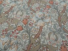 William Morris Curtain Fabric 'Golden Lily Minor' 0.5 METRES 50cm Stone/Plaster