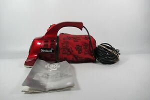 Dirt Devil Handy Zip DD150XL Hand Vac Vacuum Cleaner Model Red Caravan Car