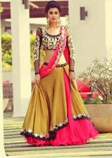 LEHENGA DESIGNER INDIAN PAKISTANI BRIDAL LEHENGA CHOLI WEDDING PARTY WEAR