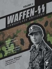 Waffen-SS Camouflage Uniforms Book Vol. 2~Drill~Fallschirmjager~Panzer~WW2~NEW!