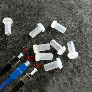 1000pc Fiber Optic Cable Dust Cap Protector FC SC ST Dust Cover Clean Connector