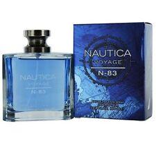 NAUTICA VOYAGE N-83 3.4 OZ / 100 ML EDT SPRAY * COLOGNE *MEN'S PERFUME* NIB
