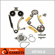Timing Chain Kit VCT Selenoid Actuator Gear Water Pump Fits GM 2.2L 2.4 Ecotec