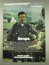 1977 U.S. Army Ad - Europe