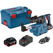 Bosch Akku-Bohrhammer GBH 18V-26 FSDS plus 2x 6 Ah Akku Ladegerät zubehör L-Boxx