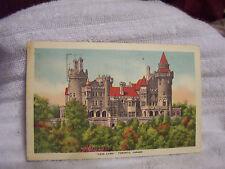 Vintage Postcard Used 1948 Casa Loma Toronto Canada