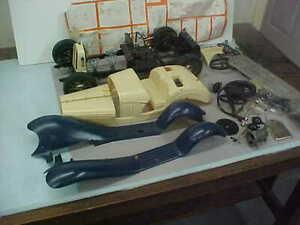 POCHER ALFA ROMEO MODEL CAR KIT (PARTS, PIECES, ETC.)