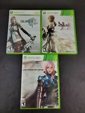 Final Fantasy XIII Trilogy - XIII-2 & Lighting Returns XBOX 360 FF 13 Complete
