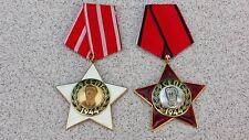 """2 BULGARIAN COMMUNIST ENAMELED ORDERS """"9 SEPTEMBER 1944"""" 2-nd+ 3-rd CLASS 1971"""
