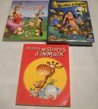 lot de 3 livres d'histoires pour enfants
