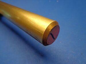 "2"" Diameter x 12""-Long 360 Brass Round Bar  -->2""  360 Brass Rod LATHE STOCK"