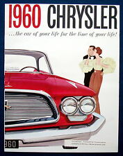 Prospekt brochure 1960 Chrysler Windsor * Saratoga * New Yorker (USA)