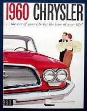 Prospekt brochure 1960 chrysler Windsor Saratoga New York (Estados Unidos)