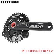 ROTOR REX 1.2 MTB CRANKSETS WITH QX2 QRINGS - BCD110/60 - 170,175mm