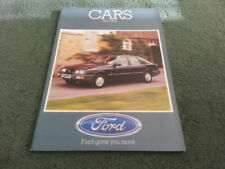 Fiesta 1983 Sales Car Brochures