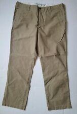 Dockers Mens 38x30 D2 Straight Fit Khaki Tan Pants