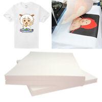 20pcs T-Shirt Print On Heat Transfer Paper Sheets For Light Fabric Cloth Craft