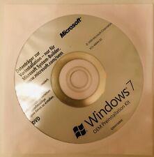 NEU Microsoft Windows 7 OEM Preinstallation Kit DVD, deutsche Version, Software