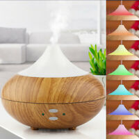 UK Essential Oil Diffuser LED Aroma Diffuser Steam Electric Ultrasonic Atomizer