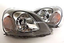 Toyota Vitz Yaris 1999-2002 Electric Valeo Type Headlights With Motor PAIR 00 01