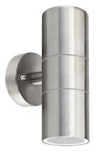 Stainless Steel Up Down Wall Light GU10 IP65 Double Outdoor Wall Light  ZLC03
