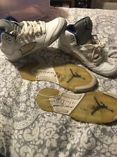 Nike Air Jordan Retro 5 V Stealth 2006 OG  136027-142 US  Size 5.5