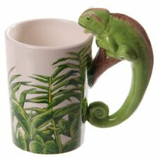Novelty Animal Shaped Handle Ceramic China Mug Tea Coffee Cup Gift Boxed