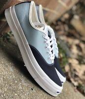 Converse Jack Purcell Signature Ox Mens Casual Shoe Blue/White 151455C Multi Sz