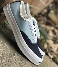 dd021bf46d20 Converse Jack Purcell Signature Ox Mens Casual Shoe Blue White 151455C All  Szs