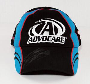 Nascar Austin Dillon Autographed Advocare #3 Hat Cap Signed Racing Blue Black